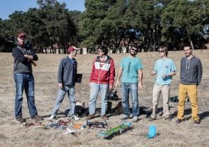 The Stanford University UAV club.